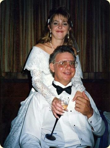Dad and Suz Wedding