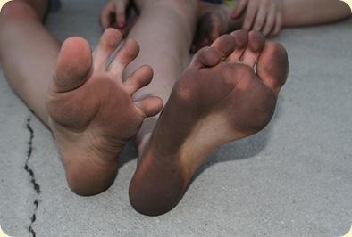 nasty toes